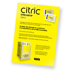 Citric poster (large)